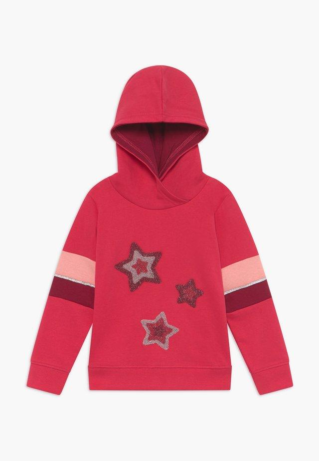 KIDS STARS HOODIE - Jersey con capucha - hochrot