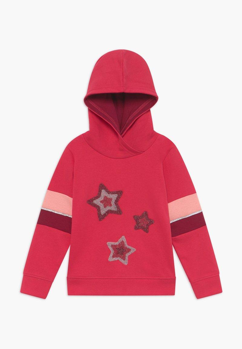 Blue Seven - KIDS STARS HOODIE - Hoodie - hochrot
