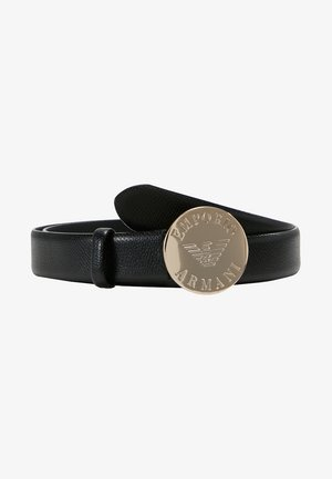 MINI DOLLARO CIRCLE BUCKLE - Ceinture - nero