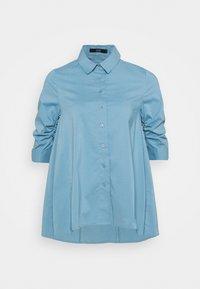 Steffen Schraut - BENITA FASHIONABLE BLOUSE - Button-down blouse - arctic blue - 5