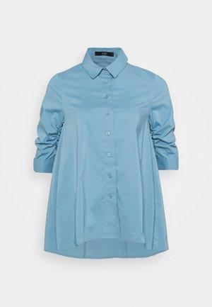 BENITA FASHIONABLE BLOUSE - Button-down blouse - arctic blue