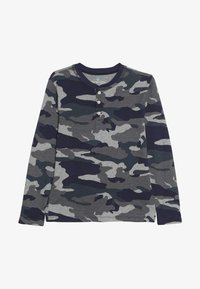 J.CREW - CAMO HENLEY - Long sleeved top - heather slate - 3