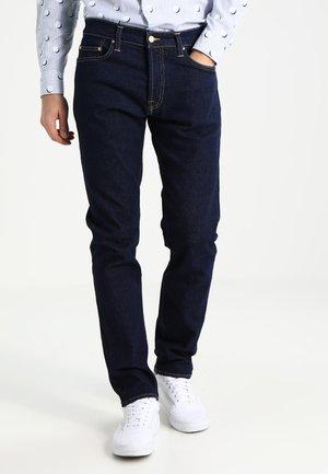 KLONDIKE MILLS - Džíny Straight Fit - blue rinsed