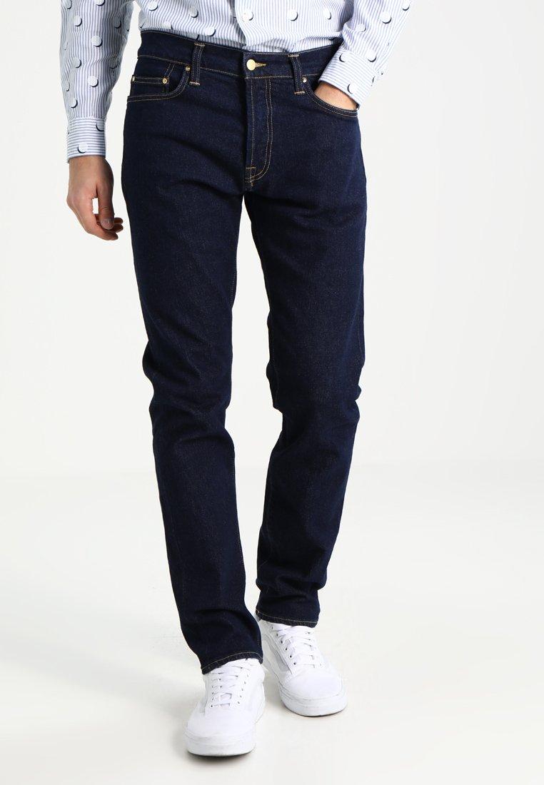 Carhartt WIP - KLONDIKE MILLS - Straight leg jeans - blue rinsed