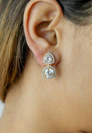 NIKOBAR  - Earrings - white
