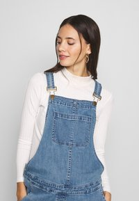 Forever Fit - DUNGAREE - Dungarees - mid blue wash - 3