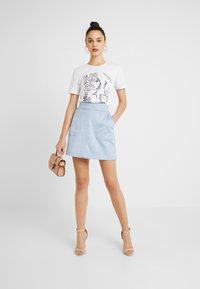 Forever New - TARA SKIRT - A-line skirt - dusty blue - 1