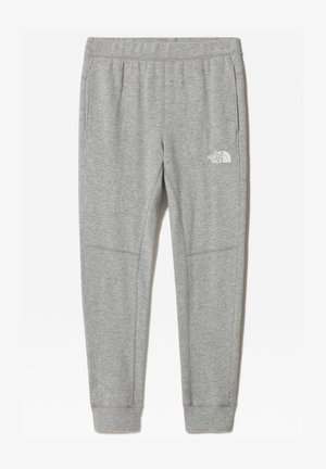 B SLACKER CUFFED PANT - Tracksuit bottoms - tnf light grey heather