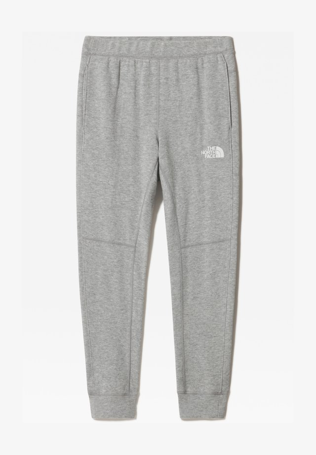 B SLACKER CUFFED PANT - Spodnie treningowe - tnf light grey heather