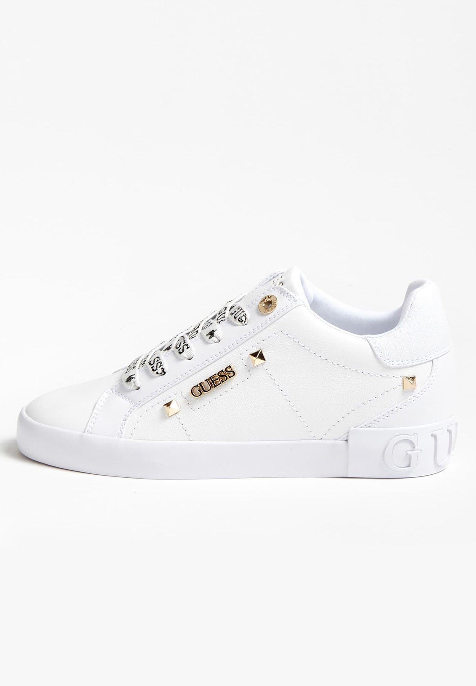 PUXLY SNEAKERS LOGO VETERS Sneaker low wit