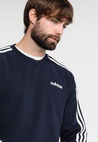 adidas Performance - Essentials 3-Stripes Sweatshirt - Sweatshirt - legend ink/white - 3