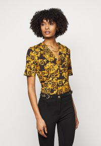 Versace Jeans Couture - LADY - Triko spotiskem - black - 0