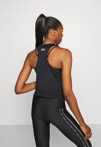 Under Armour - PROJECT ROCK TANK - Sports shirt - black - 2