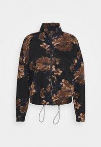ONLY - ONLALICE ZIP - Zip-up sweatshirt - black - 5