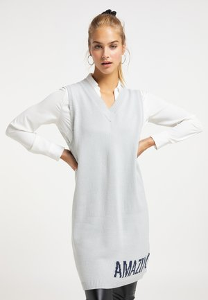 Jumper dress - eisblau