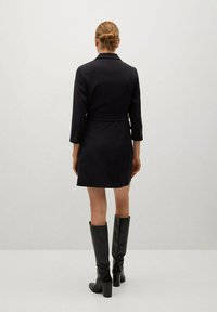 Mango - BLAKE1 - Vestido camisero - black - 3