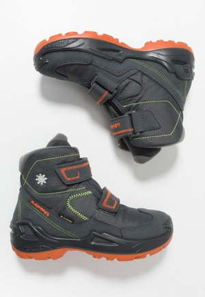 MILO GTX MID - Zimní obuv - anthracite/flame