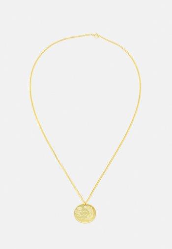 WE NECKLACE COIN - Collana - gold-coloured