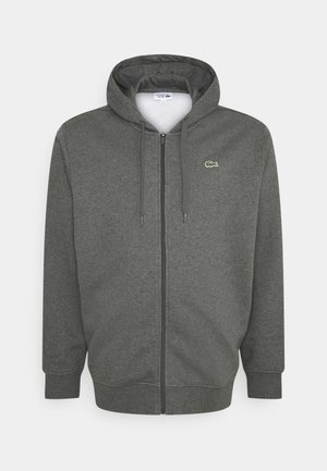 Zip-up hoodie - argent chine/elephant