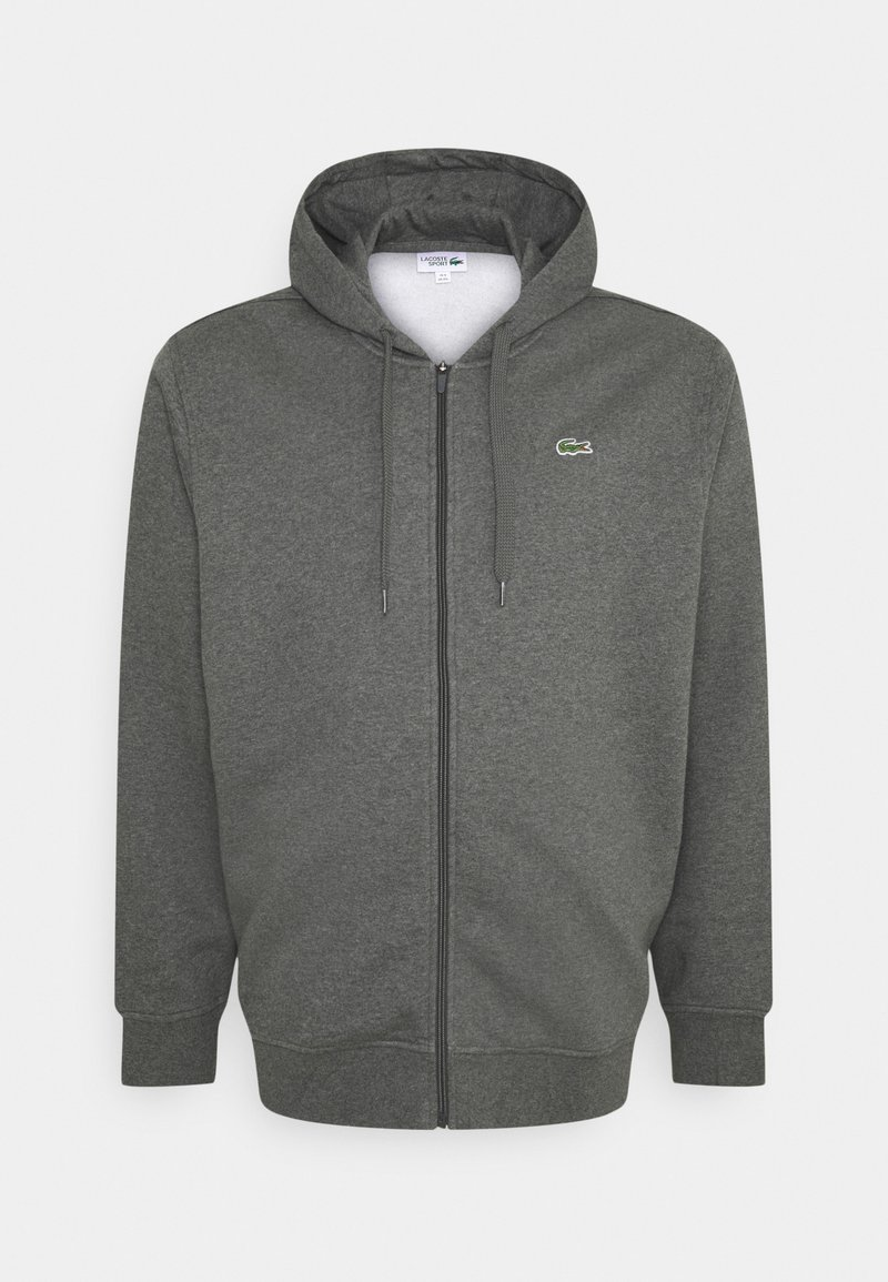 Lacoste - Zip-up hoodie - argent chine/elephant