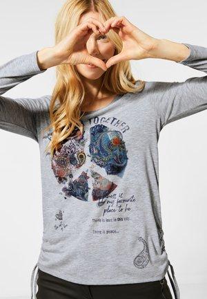 MIT PAISLEY-PRINT - Long sleeved top - grau