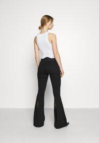 Diesel - BLESSIK  - Flared Jeans - black - 2