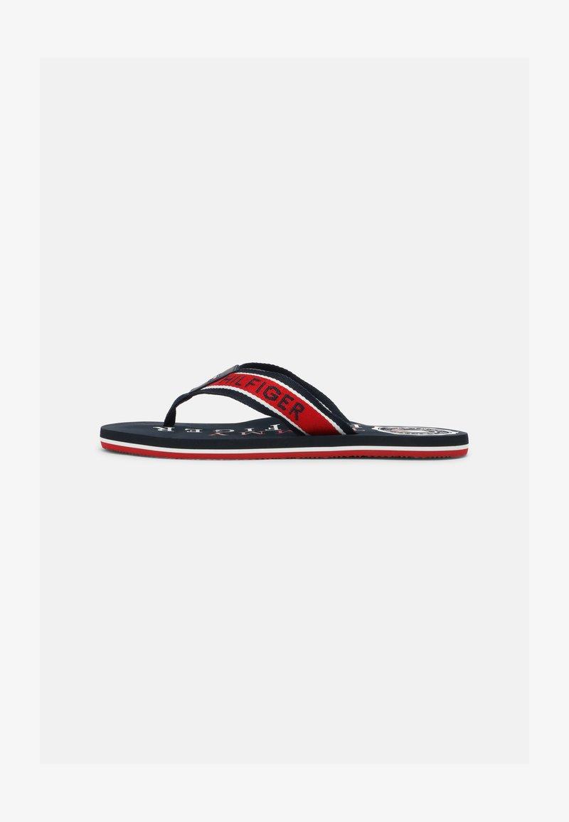 Tommy Hilfiger - MARITIME BEACH  - Sandály s odděleným palcem - desert sky