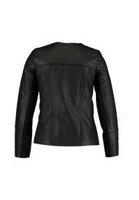 MS Mode - JACK  - Faux leather jacket - black - 1