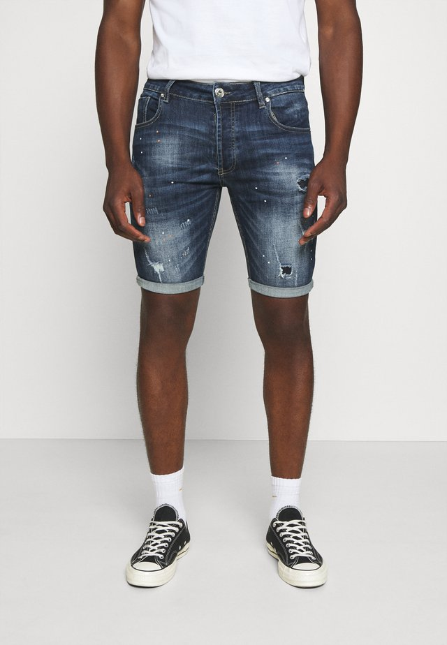 STALHAM  - Denim shorts - blue