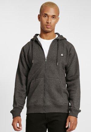 NUKA - Zip-up hoodie - pewter mix