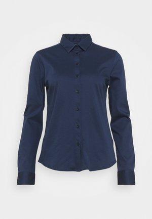 TINA - Button-down blouse - navy iris