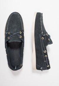 Sebago - DOCKSIDES PORTLAND - Chaussures bateau - blue navy - 1