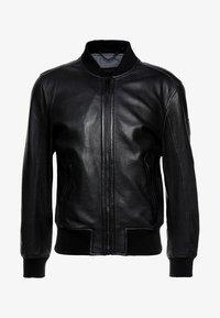 Strellson - CAMDEN - Leather jacket - black - 4