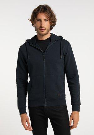 Sweater met rits - marine