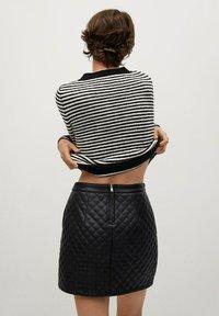 Mango - RECOCO - A-line skirt - black - 2