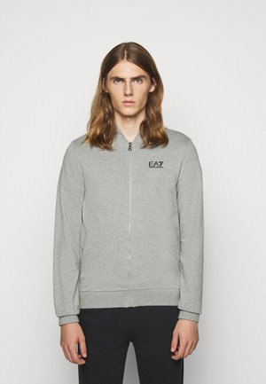 Zip-up hoodie - medium grey
