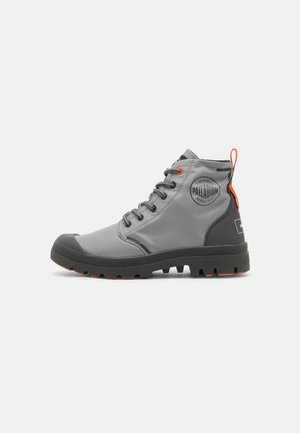 PALLAFIN UNISEX - Lace-up ankle boots - monument/dark shadow