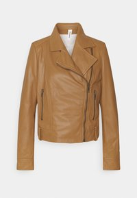 DRYKORN - PAISLY - Leather jacket - braun - 3