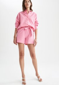 DeFacto - OVERSIZED - Button-down blouse - pink - 1