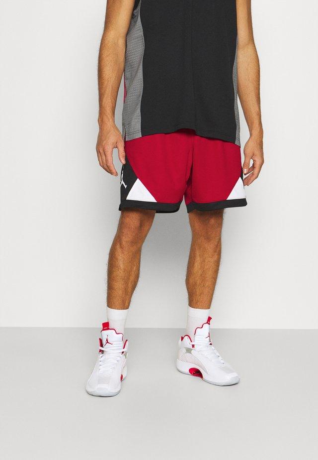 DRY AIR DIAMOND SHORT - Pantaloncini sportivi - gym red/black/white