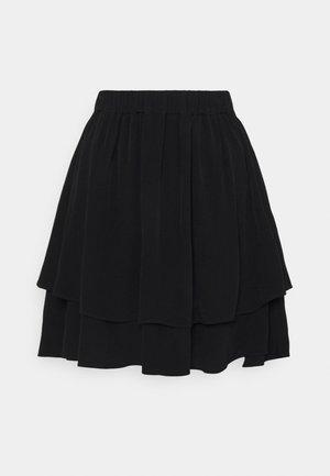YASMALA SKIRT - Mini skirt - black