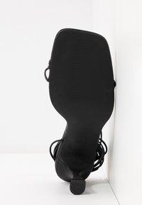 BEBO - RICHIE - Sandaler med høye hæler - black - 6
