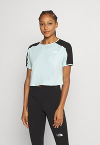 The North Face - W ACTIVE TRAIL - Print T-shirt - starlight blue - 0