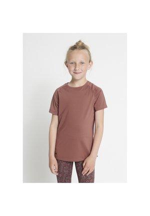 CARLA ACTIVE - T-shirt print - rose brown