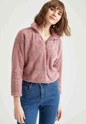 Fleece jumper - bordeaux