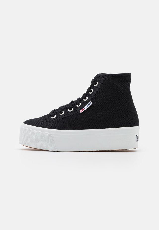 2705  - Sneakersy wysokie - black/white