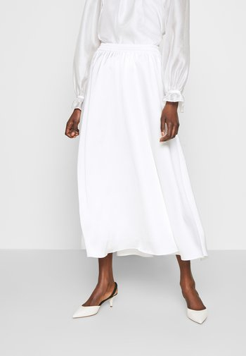 KACY MAXI SKIRT - Maxi sukně - white