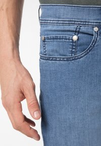 Pierre Cardin - Straight leg jeans - mid blue washed - 4