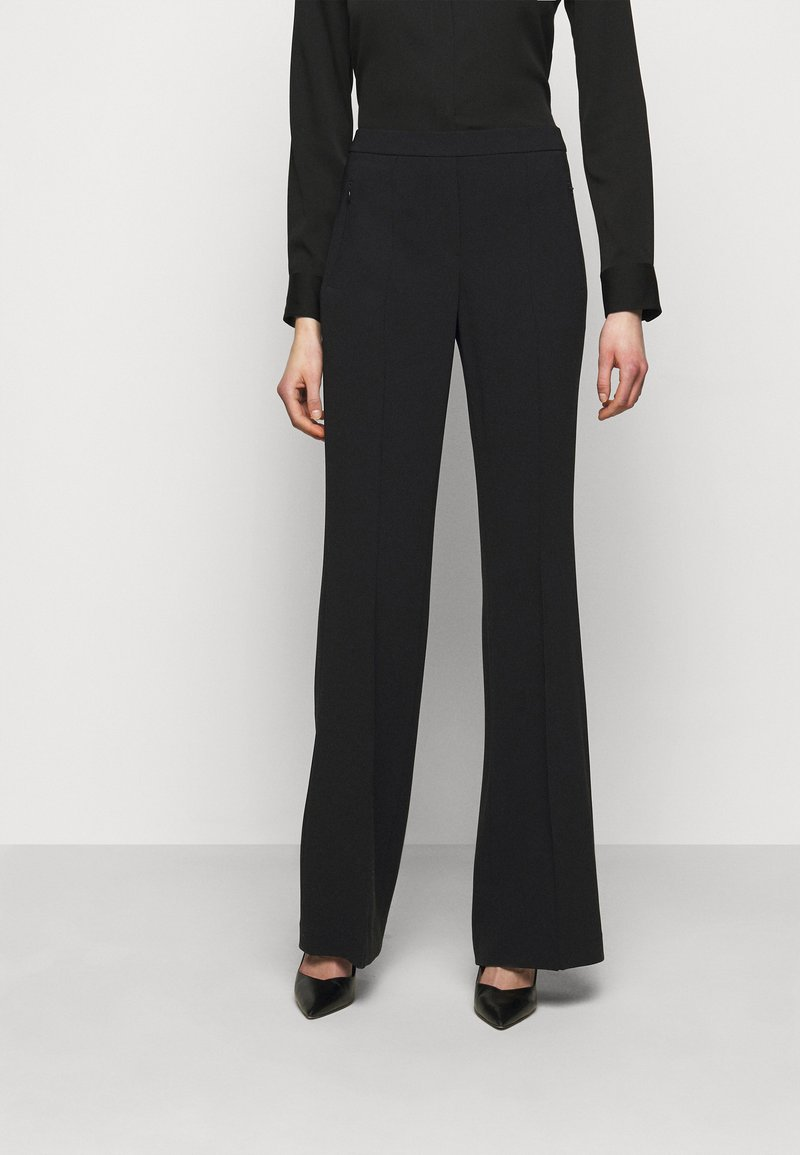 Theory - PULL ON DEMITRIA - Trousers - black