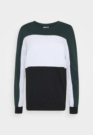 NMPANA BLOCKING NEW  - Sweatshirt - green gables/white